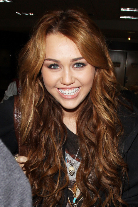Miley Cyrus Laughing